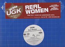 UGK Real Women Feat. Talib Kweli  and Raheem DeVaughn 2007 Promo Vinyl LP