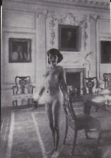 RARE ROMANIAN BEAUTY FULL NUDE WOMAN Original old 1920 PHOTO
