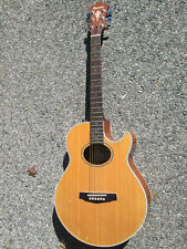 Vintage 80s Ibanez AE400 Cutaway Electric/Acoustic Guitar Repaired Head JAPAN !