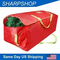 Bag for 9Ft Christmas Tree Storage Xmas Decor Container Double Zipper Heavy Duty