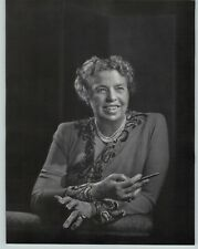 1946 Yousuf Karsh Original Anna Eleanor Roosevelt Portrait Photo Gravure