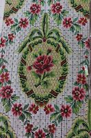 """French Antique HandPainted Gouache """"Point Paper"""" For Woven Jacquard Design c1909"""