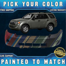 New Painted to Match - Front Bumper Cover For 2008-2012 Ford Escape 8L8Z17D957
