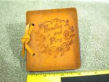 Needles And Pins Buffalo Wyoming Leather Pocket Sewing Deans Made In France