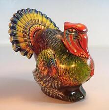 Georg Köhler Nürnberg Blech Truthahn - Puter - Turkey 11cm groß 50er Jahre #1207