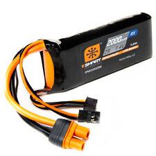 Spektrum 2000mAh 2S Smart Rx LiPo  IC3 & Servo Conn SPMX20002SRX