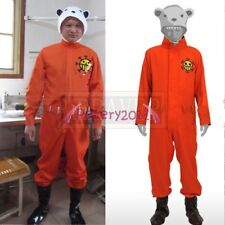 One Piece Bepo Cosplay Costume Jumpsuit+Hat+Shoes