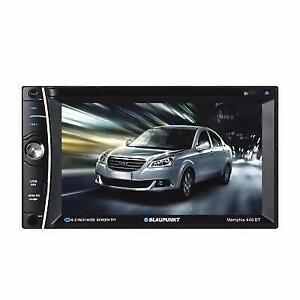 """Blaupunkt MEMPHIS 440BT 2-DIN In-Dash DVD Bluetooth Receiver 6.2"""" Touchscreen"""