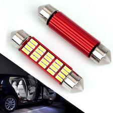 4 Pcs 578 LED Bulb For Car 20SMD 4014 Chipset 41mm 42mm Festoon Led Bulbs White