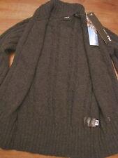 Pull Over Pullover Maglione Maglia Zip Fila montagna taglia XS grigio antracite