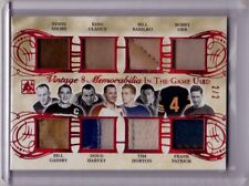 KING CLANCY BOBBY ORR TIM HORTON 15/16 Leaf In The Game Used Jersey/Patch #2/2