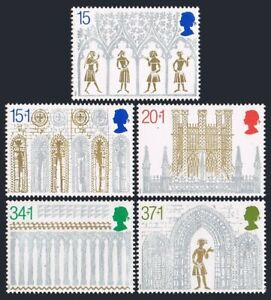 Great Britain 1294, B2-B5, MNH. Michel 1235-1239. Christmas 1989. Ely Cathedral.