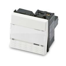Pulsante campanello portanome 1P 16A MASTER serie MIX codice 21040 serie civile