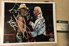 Shawn Michaels HBK The Nature Boy Ric Flair Signed Auto Photo WWF WWE WCW SGC