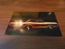 1970 Ford Ranchero Squire Advertising Postcard