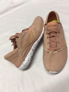 Saucony FORM 2U  Running Shoes Men's Pink Leather Size 11 UK 10Eur 45  SS-L4D