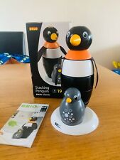 Rare Brio Stacking Penguin With Baby Penguin Boxed - Rare (Recalled)