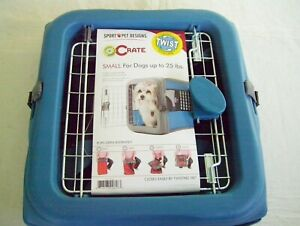 SPORT PET DESIGNS POP CRATE SMALL KENNEL Dog up to 25 Lb