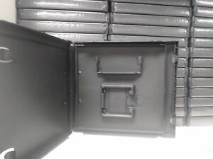 5 Standard Black Nintendo DS Empty Replacement Game Cases Boxes With Slot 0Z