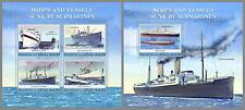 MALEDIVEN 2020 ** U-Boote + versenkte Schiffe Submarines  #17-1109ba B