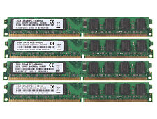NEW 8GB 4X 2GB DDR2 2RX8 800MHz PC2-6400U 240Pin DIMM For intel Desktop Memory