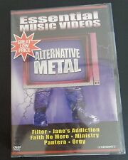 Essential Music Videos - Alternative Metal (DVD, 2004) New FREE SHIPPING Sealed