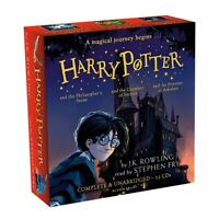 25 CD Harry Potter Audio Book Collection - JK Rowling - Narrated by Stephen Fry