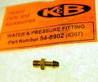 "NEW MECOA K&B engine 10-32 thread nipple fitting 1/8"" diameter 54-8902"