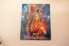 WANDAVISION - Glossy Bluray Steelbook Magnet Cover NOT LENTICULAR