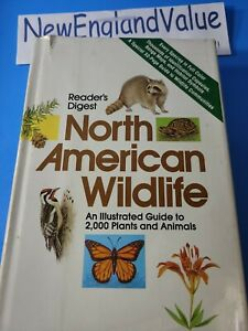 Readers Digest North American Wildlife Illustrated Guide (1982, Hardcover)(b13)