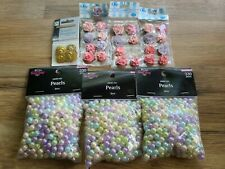 Lot Of Pearl Beads And Accessories