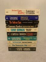 Lot Of 10 Lawrence Sanders Paperbacks McNally + Others
