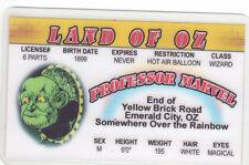 Professor Marvel Land of Oz novelty card Drivers License Wizard w w denslow