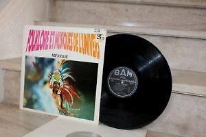 LP , vinyl. M.Moréa & S Roterman - musique du mexique