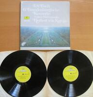 DG 2726 080 Bach 6 Brandenburg Concertos Karajan Berlin Phil 2xLP Gatefold NM/EX