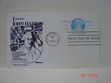 FLEETWOOD POSTAL CARD FIRST DAY OF ISSUE - UX64