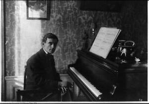 Joseph Maurice Ravel,1875-1937,French Composer,Impressionist Music,at pian 7133