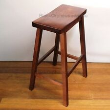 Timber Stool, H.69cm, Maple Colour, Zen Bar Stool, Kitchen Stool.