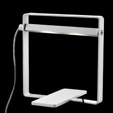 7W Lampada Tavolo LED Oring Bianco Computertastatur-Lampe Schreibtisch-Leselampe