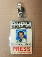 Night Stalker ID Badge-Carl Kolchak