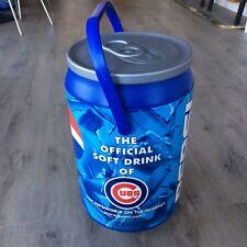 "Vintage Chicago Cubs Kooler Kraft PEPSI Beach Can Cooler Ice Chest 20"" Plastic"