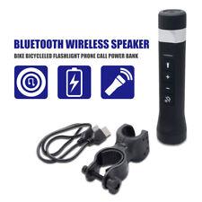 2018 Radio FM MP3 Lampe de Poche Power Bank Multi-fonctionnel Vélo Haut-Parleur Bluetooth