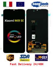 Touch Screen LCD Display Vetro Schermo XiaoMi Mi 9 SE AMOLED  Display Nero