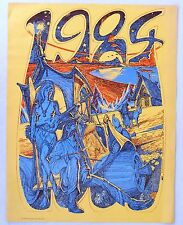 1984 Poster made in 1967 by Pentagonal Dodecahedron, San Francisco