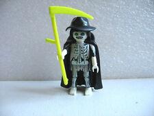 PLAYMOBIL 1 PERSONNAGE : LA MORT / death figure / ghost fantome FIGURINE F98