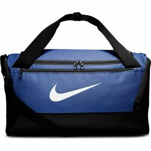 Nike Brasilia Training Gym Duffle Bag Royal Blue 41 Liters - Small