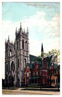 1909 St. Patrick's Church, Cleveland, OH Postcard