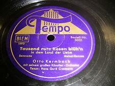 8/2L Otto Kermbach - Tausend rote Rosen blüh'n - Gondellied