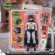 Batman 1966 Tv Series 5; Batman removeable cowl. 8 INCH FIGURE  MOSC ADAM WEST