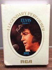 VTG RCA 8-TRACK ELVIS- A LEGENDARY PERFORMER VOLUME 2 With Cover